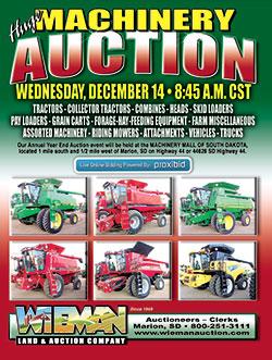 Wieman Land & Auction